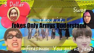 Video Jokes Only Bts Armys Understand MP3, 3GP, MP4, WEBM, AVI, FLV Juni 2019