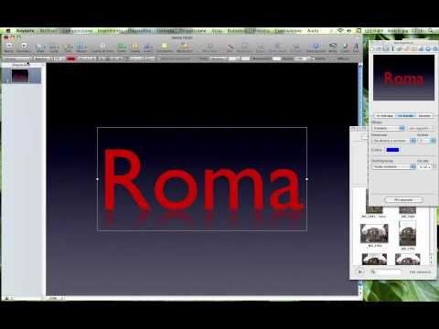 Come modificare e aggiungere effetti alle slide con Keynote ...