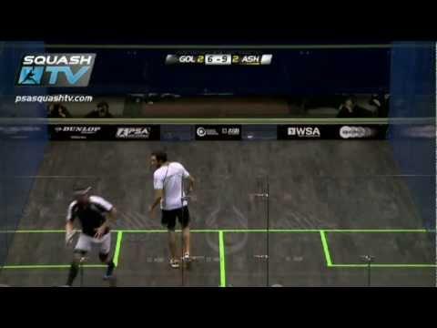 Squash : Borja Golan v Ramy Ashour : PSA Allam British Squash Open 2012