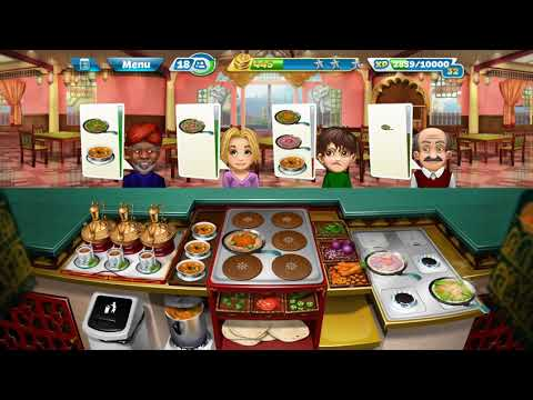 Cooking Fever #Indian Diner #Level 34