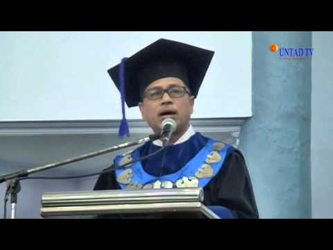 Dok Humas Untad, Upacara Dies Natalais Universitas Tadulako Ke 34 Tahun Palu,31 Agustus 2015