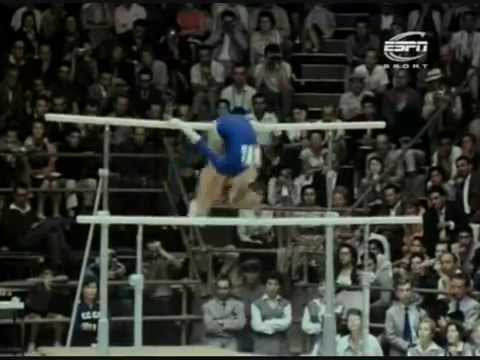 bars - A montage made by me about the gymnastics uneven bars, developements/evolution from the 50s to 2010. The apparatus that witnessed the most radical changes. T...