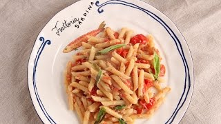 Pennette with Tuna and Tomatoes | Episode 1072 by Laura in the Kitchen