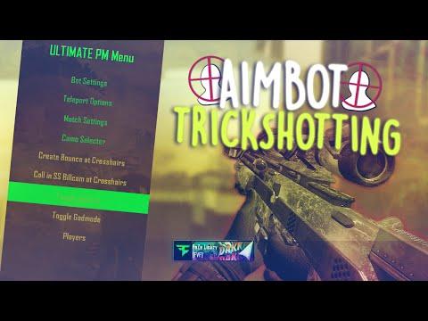 AIMBOT TRICKSHOTTING! (BO2)