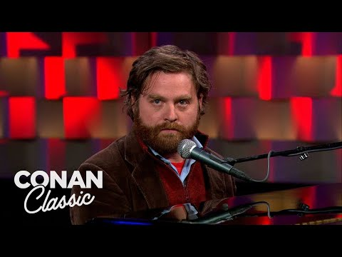 "Zach Galifianakis Stand-Up - ""Late Night With Conan O'Brien"""