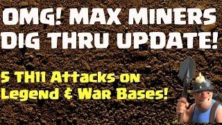 Post Update: Max Miners Still Digging!