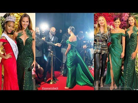 Pia Wurtzbach at Catriona Gray AGAW EKSENA sa Miss South Africa 2021