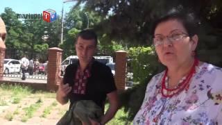 У здания Приморского суда Мариуполя прозвучал выстрел