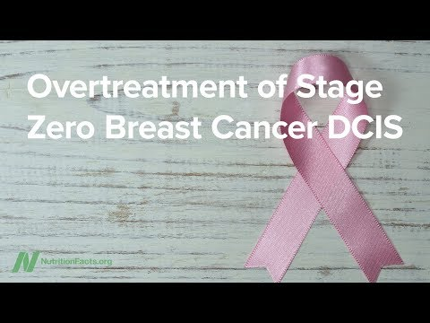 Nutrition - Overtreatment of Stage 0 Breast Cancer DCIS