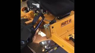 6. Cub Cadet RZT S46 drive belt repair