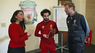 Video Liverpool's Mohamed Salah announced as 2017 BBC African Footballer of the Year MP3, 3GP, MP4, WEBM, AVI, FLV Juni 2018