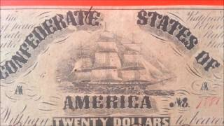Richmond (IN) United States  city images : $20 1861 Confederate States Note - Richmond - US CURRENCY COLLECTION