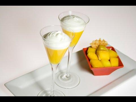 Verrines de mango gastronom a molecular for Espumas gastronomia molecular