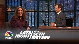 How Weird Al Found Out His Album Was Number 1 - Late Night with Seth Meyers