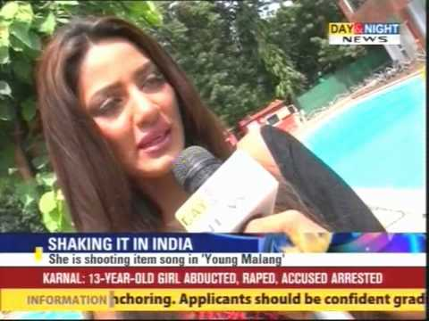 Video TV NEWS - Day & Night - Pakistani Model Mathira in Punjabi Movie