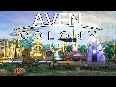 Aven Colony – Space Based City Builder Tutorial! – Let's Play Aven Colony Gameplay