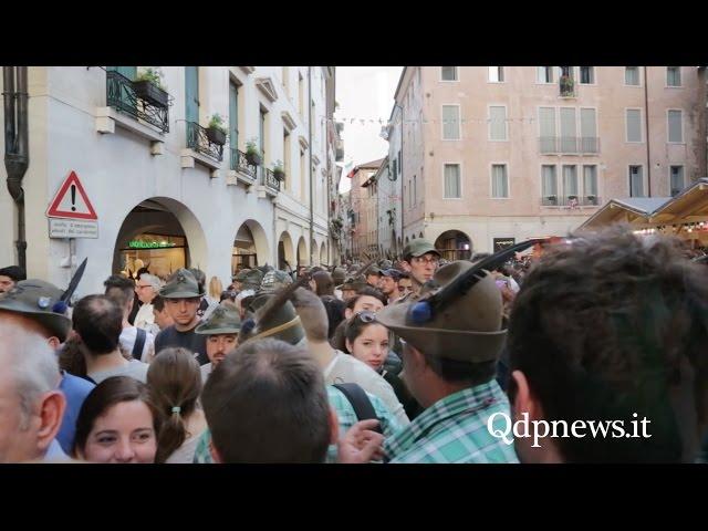 I colori e gli umori dell'Adunata Nazionale 2017: il racconto da Treviso