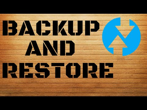 How to backup and restore android rom using TWRP recovery
