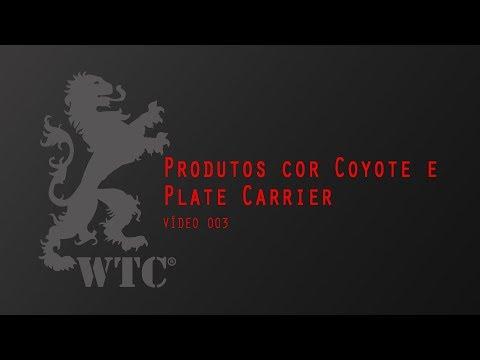 Produtos cor Coyote e Plate Carrier - Vídeo 003