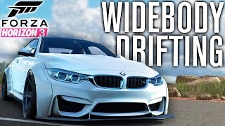 Forza Horizon 3 Gameplay | WIDEBODY BMW M4, DRIFTING & CUSTOMIZATION TALK