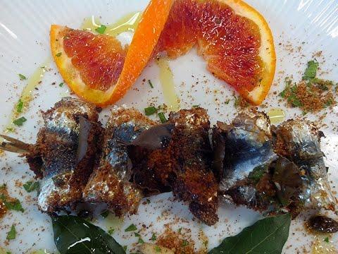 sarde a beccafico - cucina tradizionale siciliana
