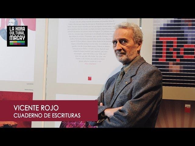 Cuaderno de escrituras de Vicente Rojo