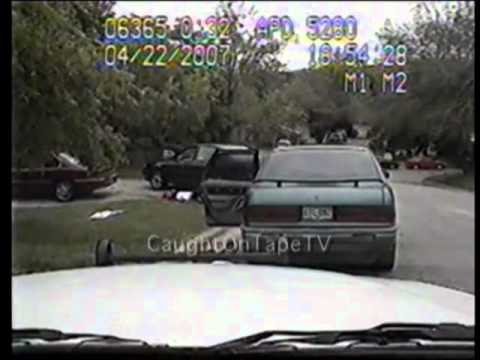 DRAMATIC TEXAS SHOOTOUT CAUGHT ON TAPE!