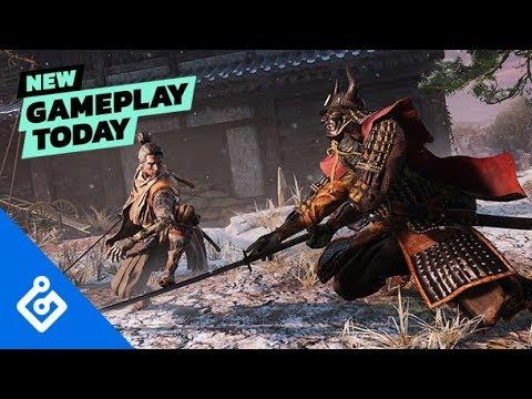 New Gameplay Today — Sekiro: Shadows Die Twice