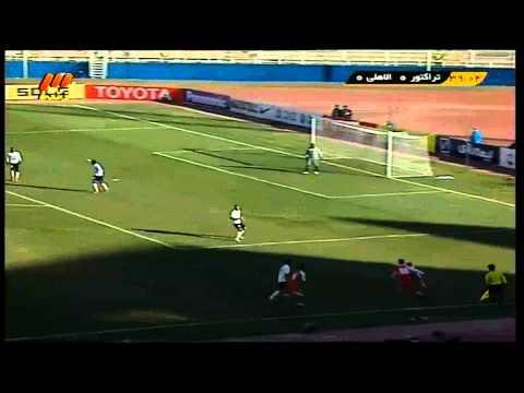 Goal Tractor Sazi vs  Al Ahli 1   0 Goal F  Ahmadzadeh Iran  AFC Champions League فوتبال ایران