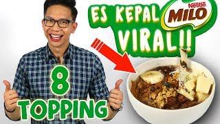 Download Video CARA BUAT ES KEPAL MILO VIRAL 8 TOPPING!! Ala Yudist Ardhana!! MP3 3GP MP4