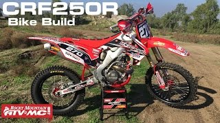 1. 2010 Honda CRF250R Trail Bike Build