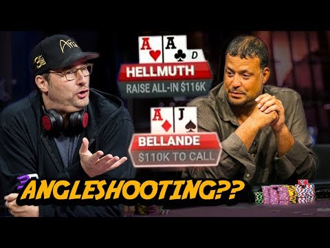 Is This Angleshooting Or Good Speech Play?? | Timmy Poker Hands