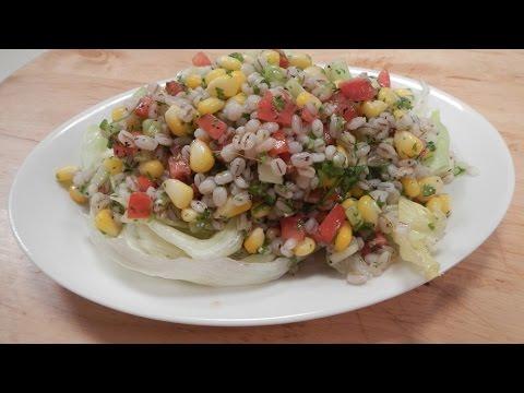 Barley Corn Salad 01 September 2014 03 PM