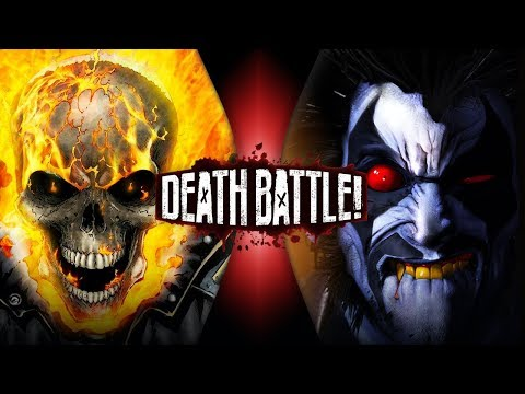 Ghost Rider VS Lobo (Marvel VS DC) | DEATH BATTLE!