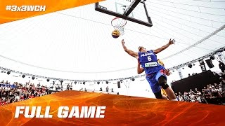Enjoy the full game between the Philippines and Romania on day 2 of the 2016 FIBA 3x3 World Championships in Guangzhou...