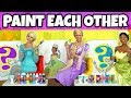 PAINT EACH OTHER CHALLENGE Disney Princess Giant Edition (Totally TV Characters)