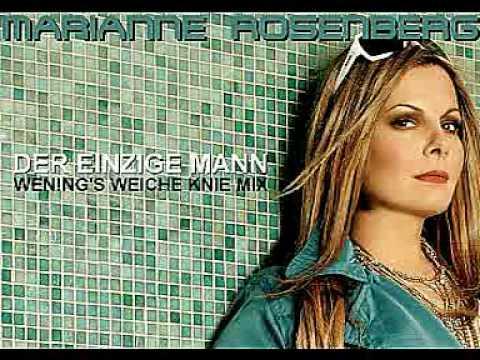 Tekst piosenki Marianne Rosenberg - Der einzige Mann po polsku