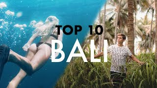Download Video TOP 10 BALI (TRAVELLERS PARADISE) MP3 3GP MP4