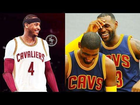 CARMELO ANTHONY JOINS CAVALIERS! GETS ROASTED BY LEBRON & KYRIE IRVING! NBA 2K17 Gameplay