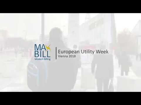 MaxBill at European Utility Week 2018