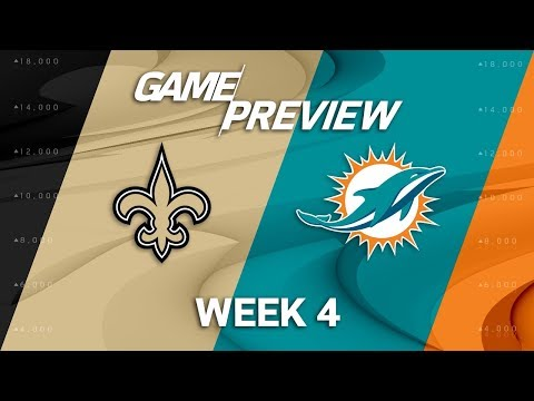 Video: New Orleans Saints vs. Miami Dolphins | Week 4 Game Preview | NFL International Series