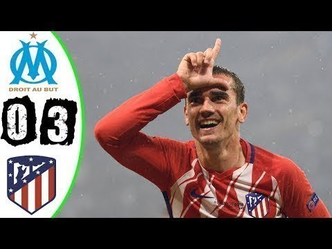 Europa League Final 2018•Marseille vs Atletico Madrid 0-3 Resumen - All Goals & Highlights