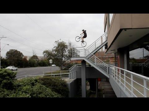 Urban Trial Bike Riding with Andrew Dickey