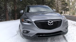 New 2013 Mazda CX-9 0-60 MPH Drive And Review