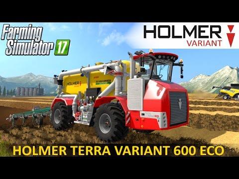 Holmer Terra Variant 600 ECO Pack v2.5