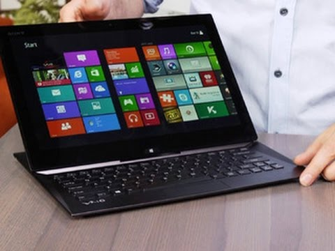 Sony upsizes the sliding PC with the Vaio Duo 13