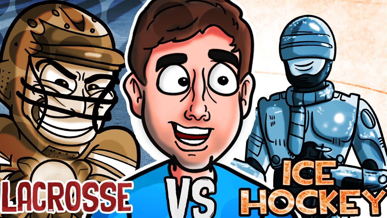 LACROSSE vs. ICE HOCKEY | Bad British Commentary