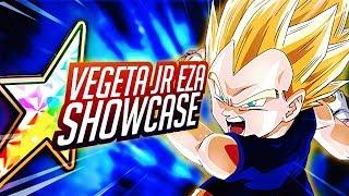 Video BRAND NEW F2P 100% VEGETA JR EZA SHOWCASE! Dragon Ball Z DBZ Dokkan Battle MP3, 3GP, MP4, WEBM, AVI, FLV Februari 2019