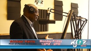 The incomparable Michael Harris is now on KJOZ 880am.  join the conversation on Person to Person with Michael Harris, Mon-Fri 12 am til 2 pm on 880am KJOZ