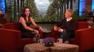 Katy Perry Opens Up to Ellen
